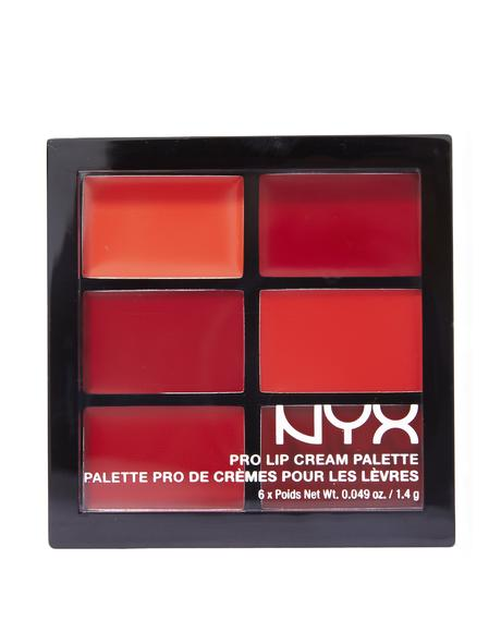 The Reds Pro Lip Cream Palette