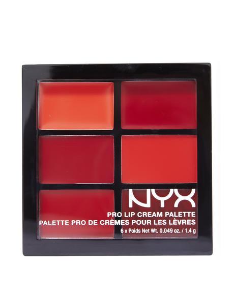 The Reds Pro Lip Cream Palette