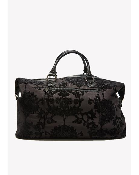 Shrouded In Moonlight Brocade Weekender
