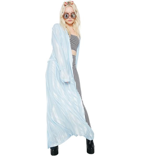 Sashay Away Striped Robe