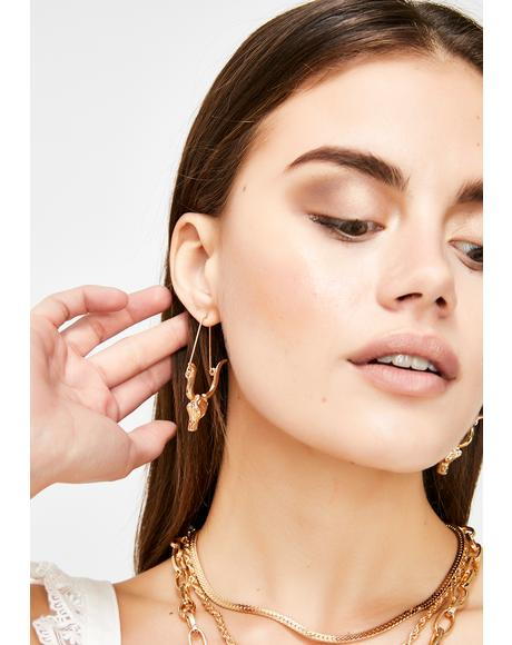 Trustworthy Taurus Drop Earrings