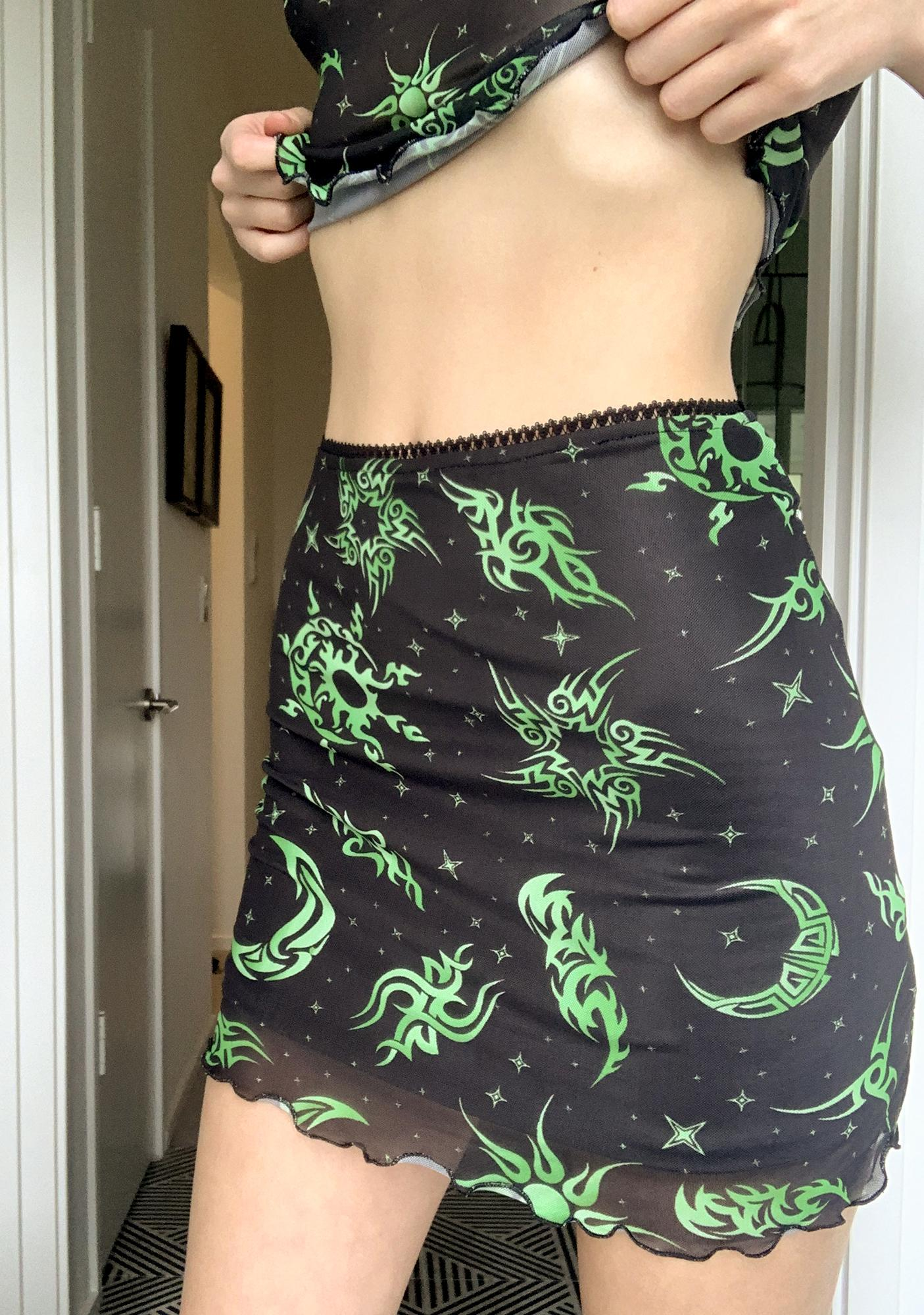 HOROSCOPEZ Venus Envy Mesh Skirt