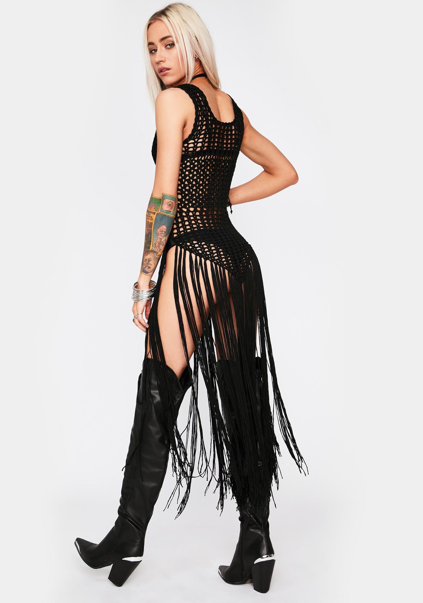Full Moon Fest Fringe Dress