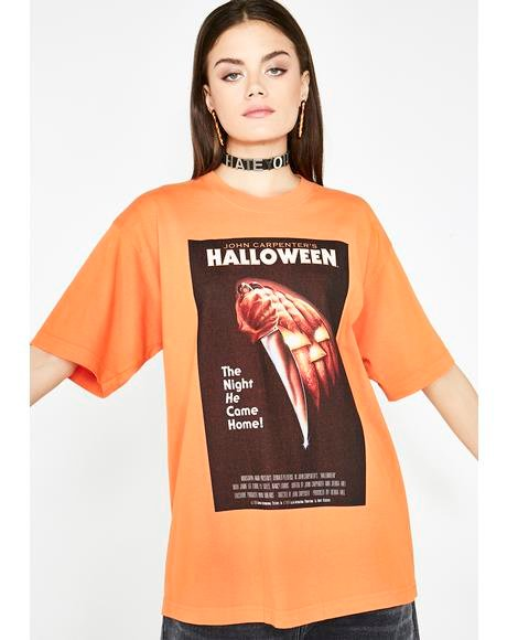 Halloween Poster Graphic Tee