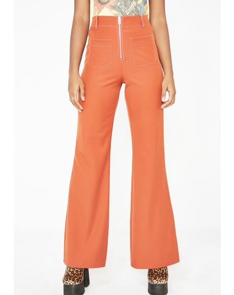 Summer Dreamy Energy Flare Pants