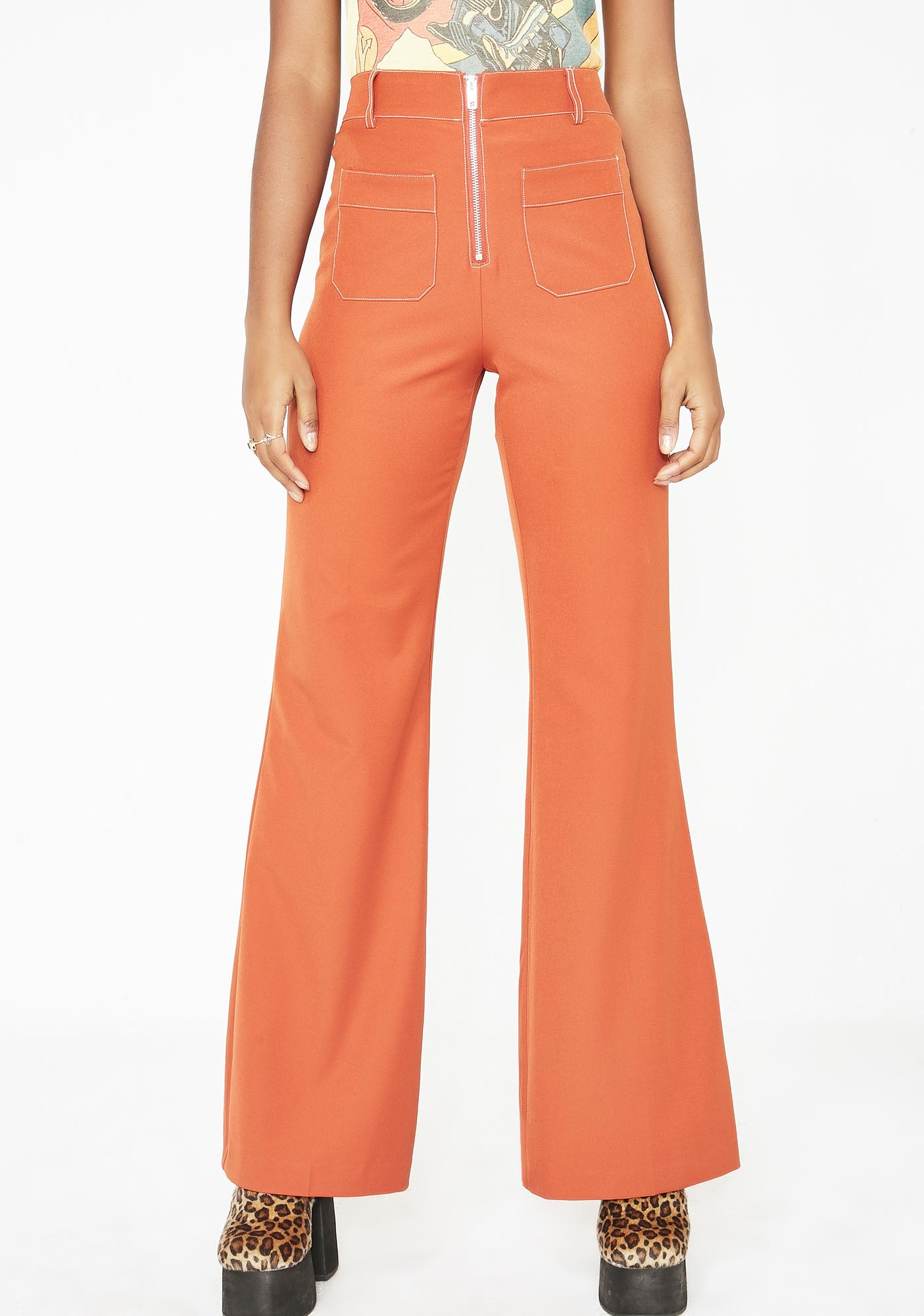 b5169362d90 Honey Punch Summer Dreamy Energy Flare Pants