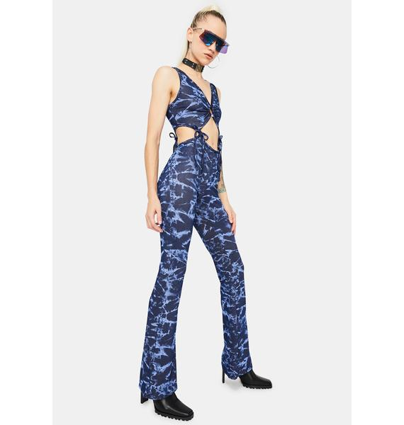 Royal Vixen Cut-Out Jumpsuit