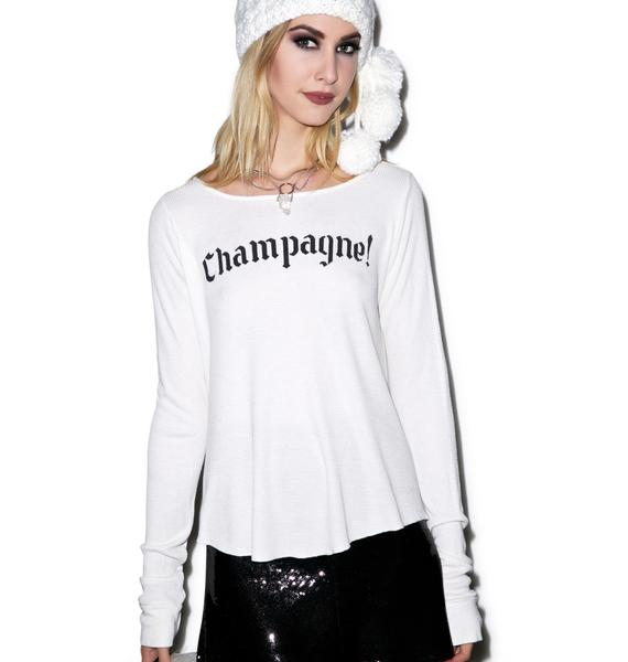 Wildfox Couture Winter Diet Long Sleeve Cassidy