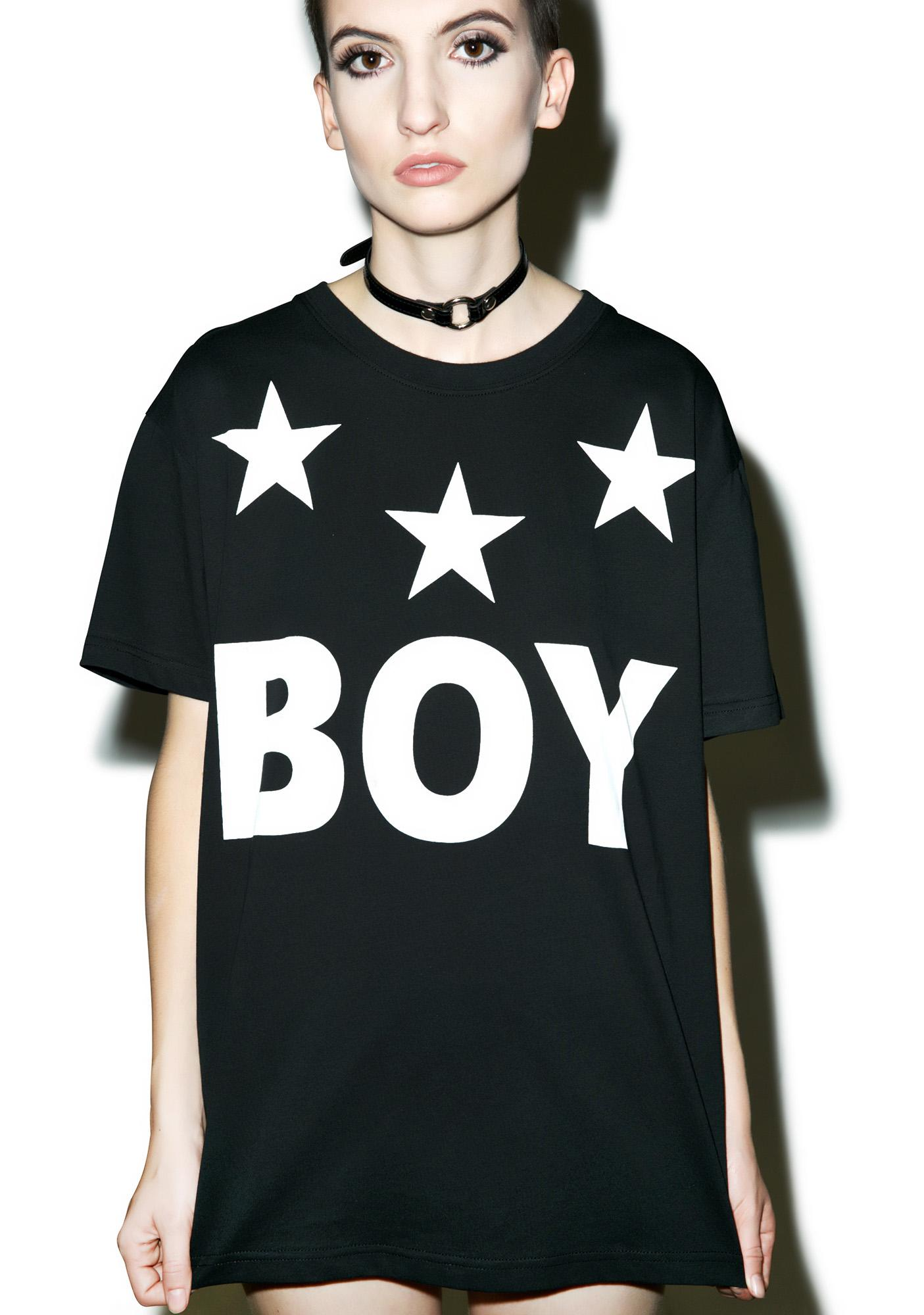 BOY London Tri Star T-Shirt