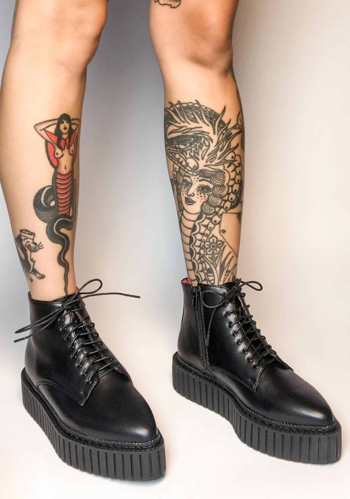 Lamoda New Direction Creeper Boots