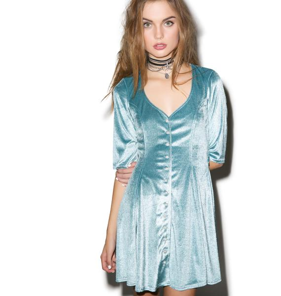 For Love & Lemons Spur Mini Dress