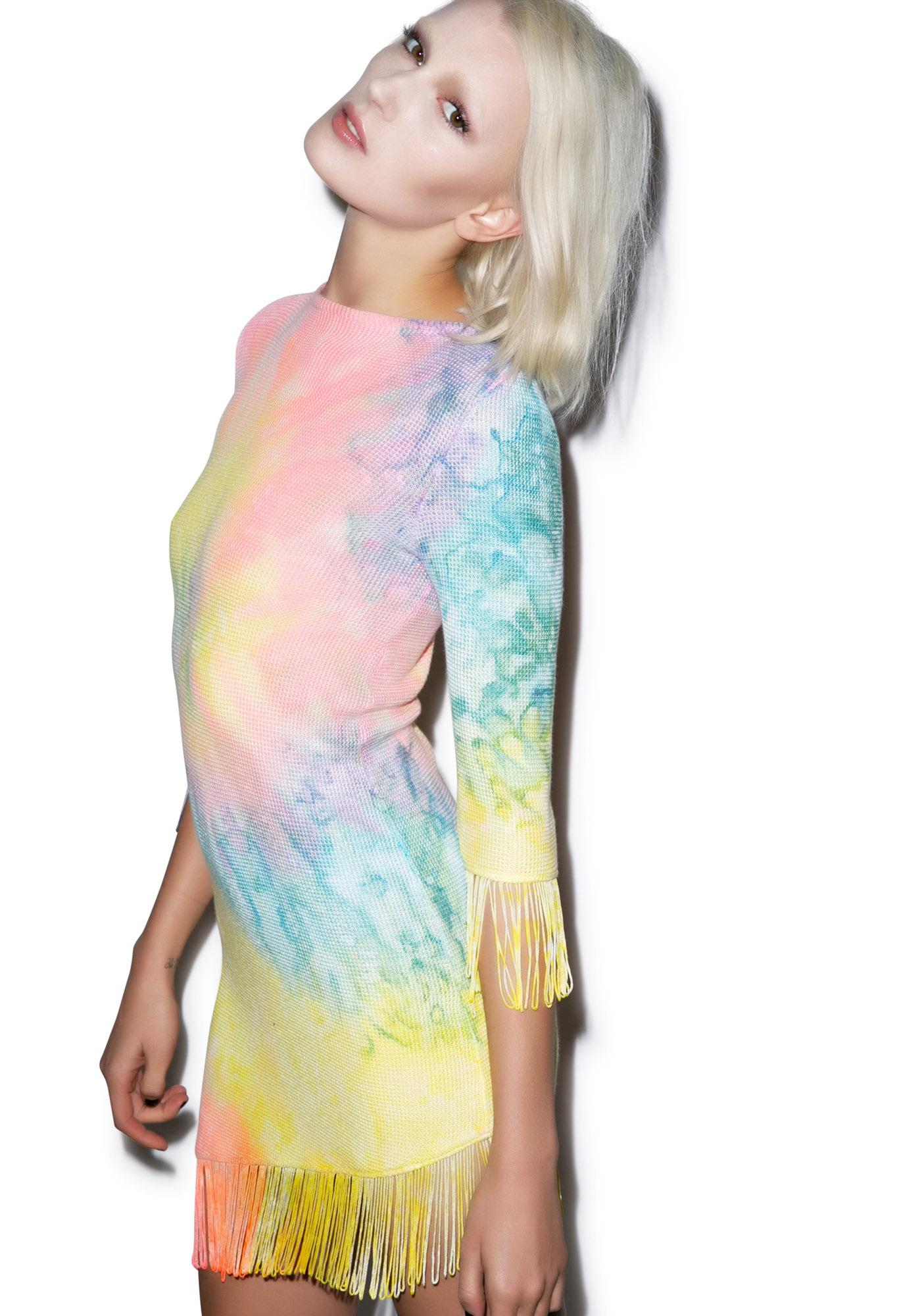 UNIF Tie Dye Stevie Dress