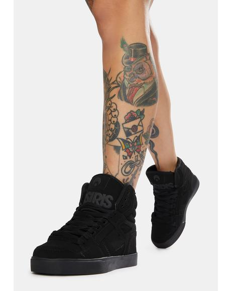 Black Clone Sneakers