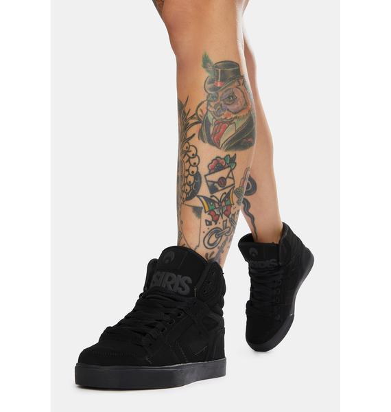 Osiris Black Clone Sneakers