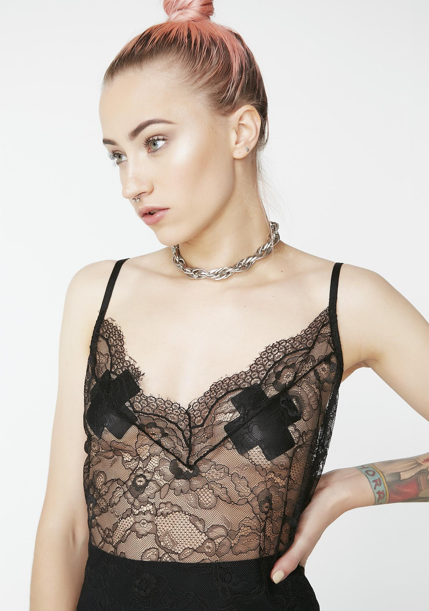 Kiki Riki Night Visionz Sheer Dress