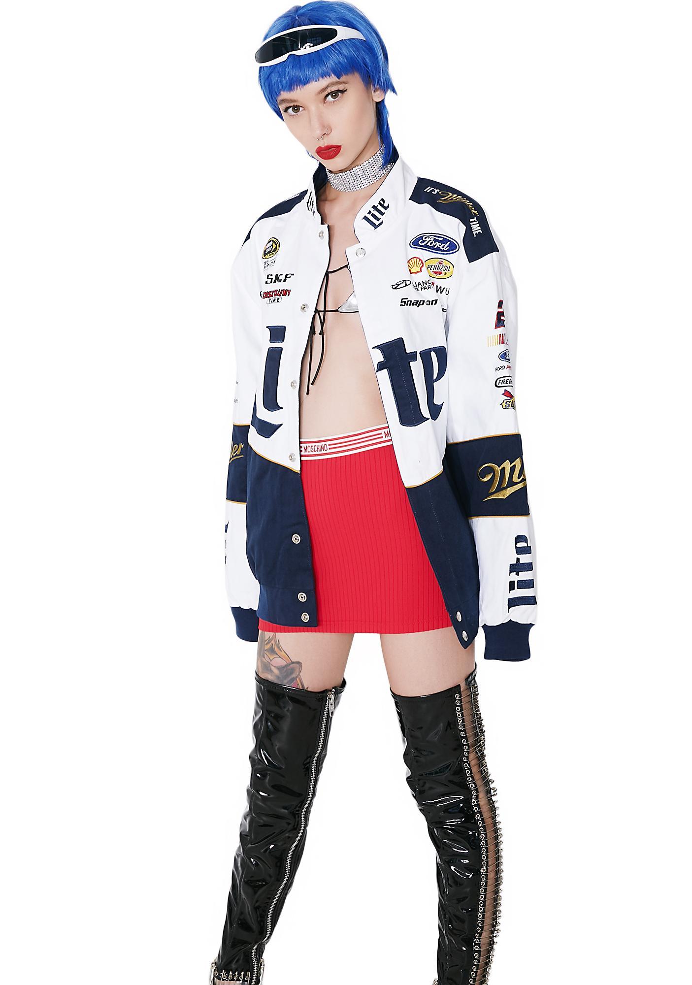 Brad Keselowski Miller Lite NASCAR Twill Jacket