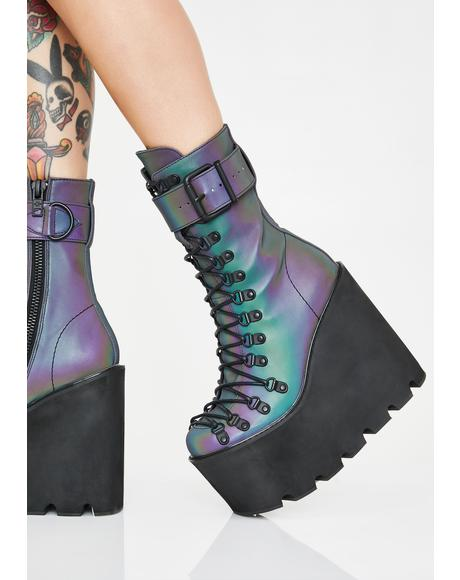 Prism Reflective Traitor Boots