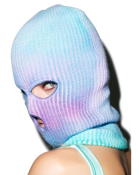 Gonna Tie Dye Ski Mask