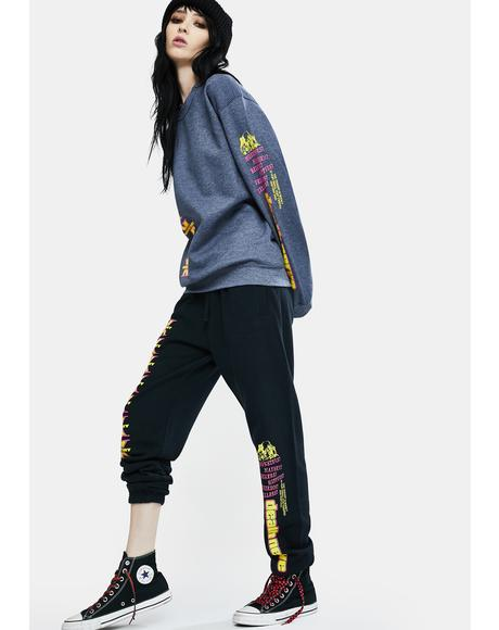 Death Nerves Graphic Sweatpants