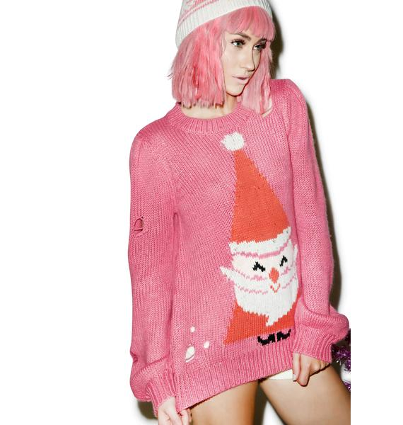 Wildfox Couture Jingle Man Misty Sweater