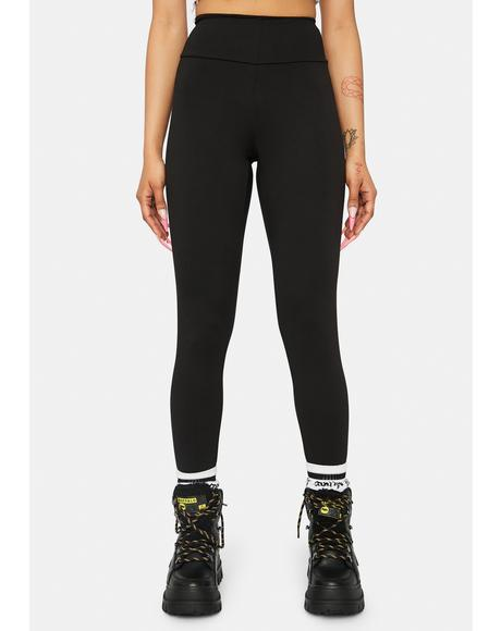 Mountain Climber High Waisted Leggings