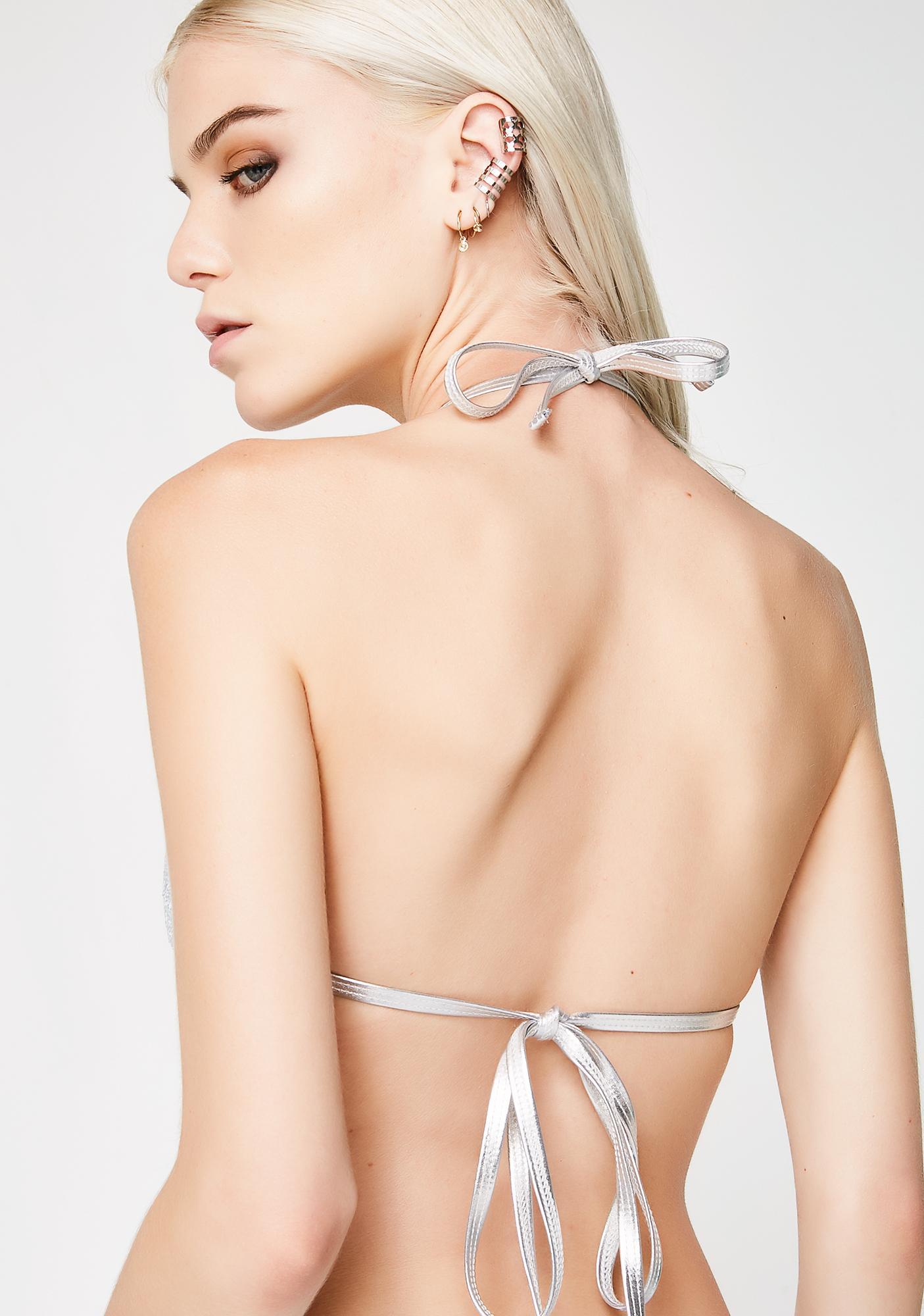 Motel Sugar Rush Bikini Top