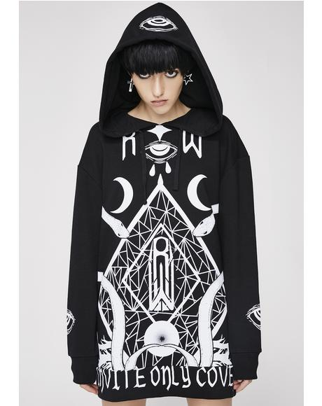 Coven Oversized Hoodie