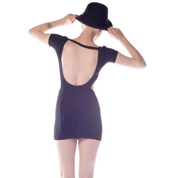 Quontum Circle Cut Out Dress