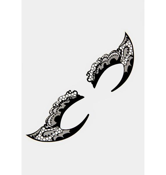 Mystical Mistress Temporary Eye Tattoos