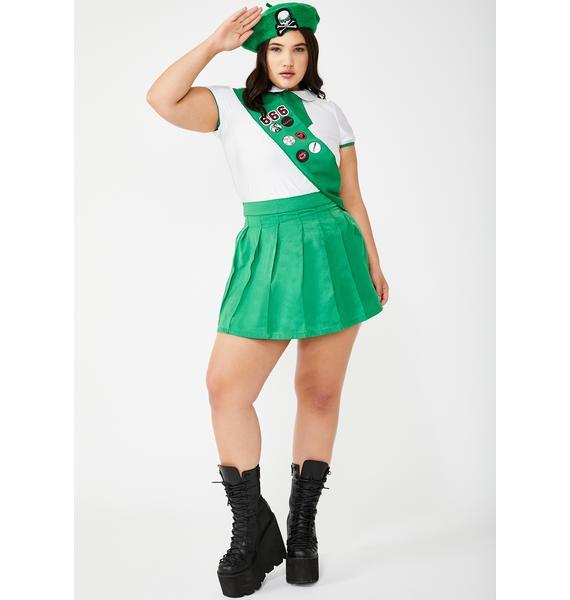 Dolls Kill Catch Hell Scout Costume Set