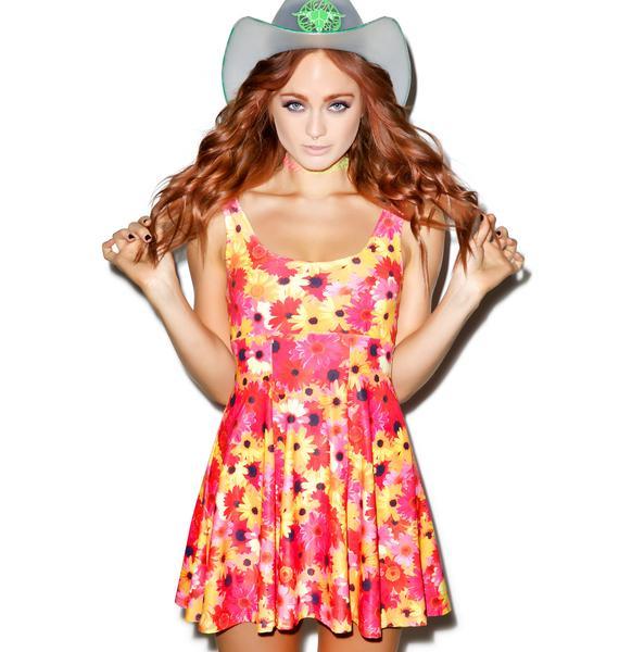 J Valentine Daisy A-Line Dress