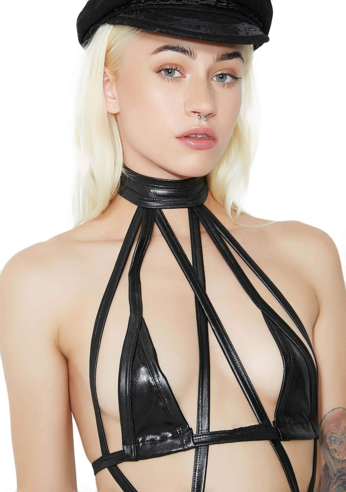 Dirty Imagination Strappy Bodysuit