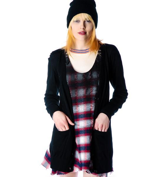 Halfman Romantics Miss Fur Cardigan