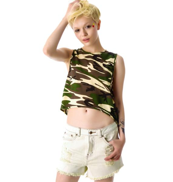 Somedays Lovin Hunter Denim Boyfriend Shorts
