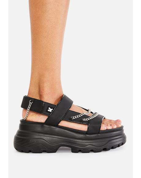 Marnus Test Chain Sandals