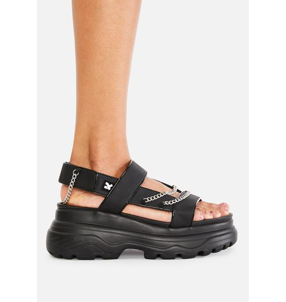 Koi Footwear Marnus Test Chain Sandals