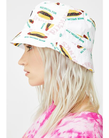 X Pink's Hot Dogs Made Special Bucket Hat