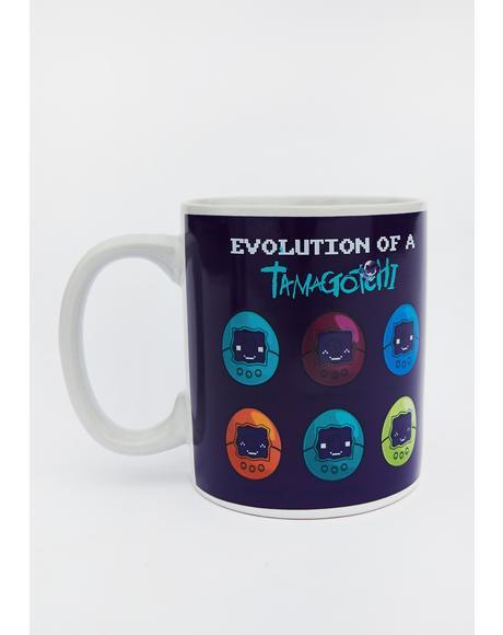 Tamagotchi Heat Changing Coffee Cup