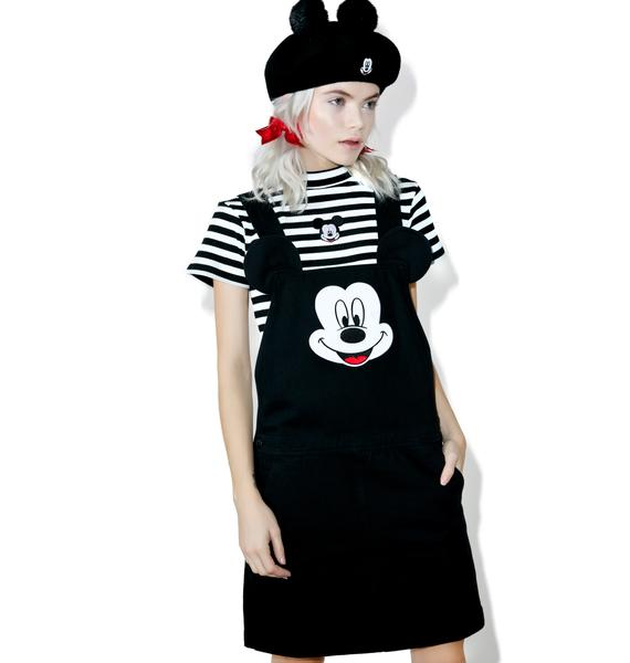 Lazy Oaf X Disney Mickey Mouse Pinafore Dress