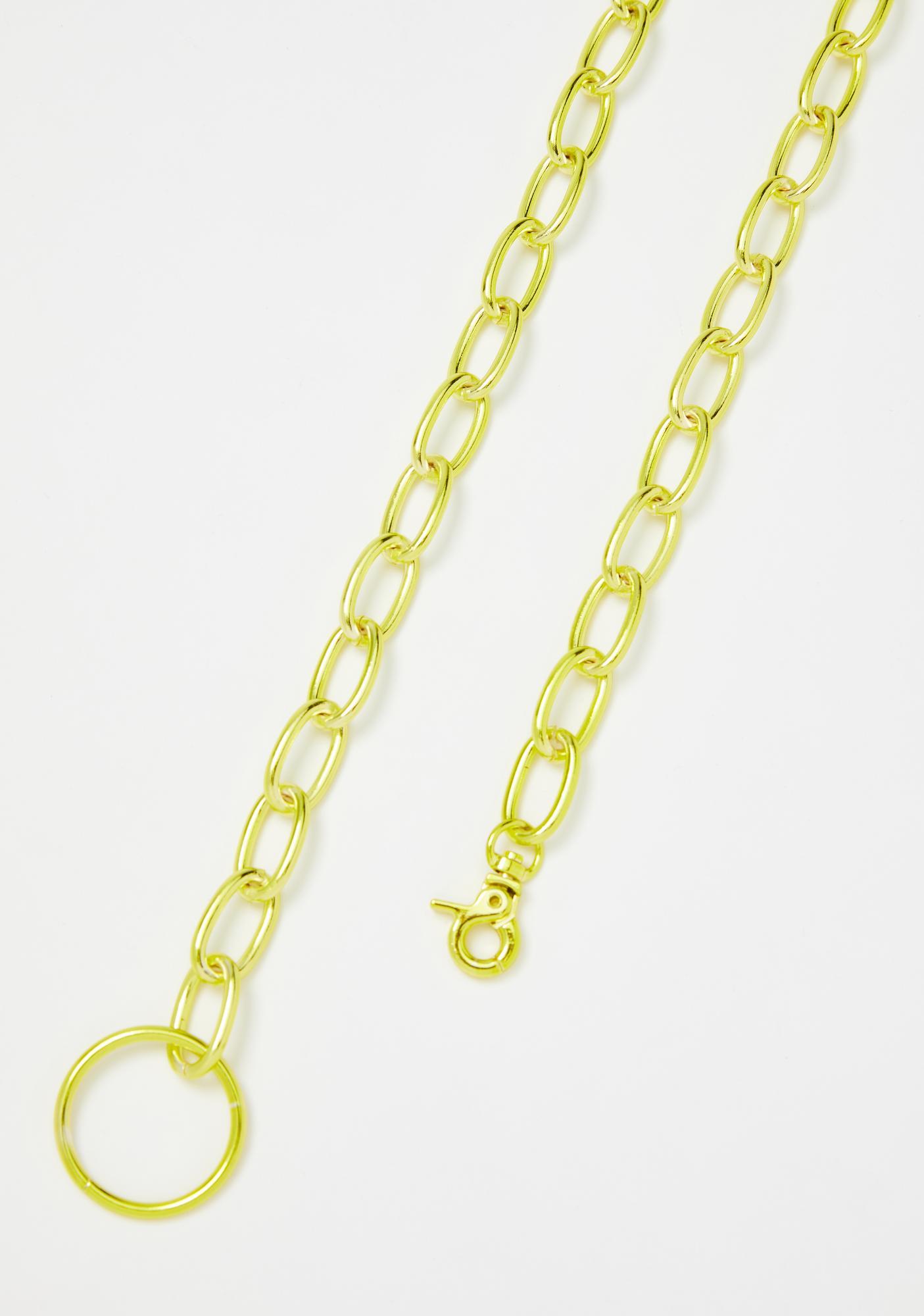 Emotional Gangsta Waist Chain