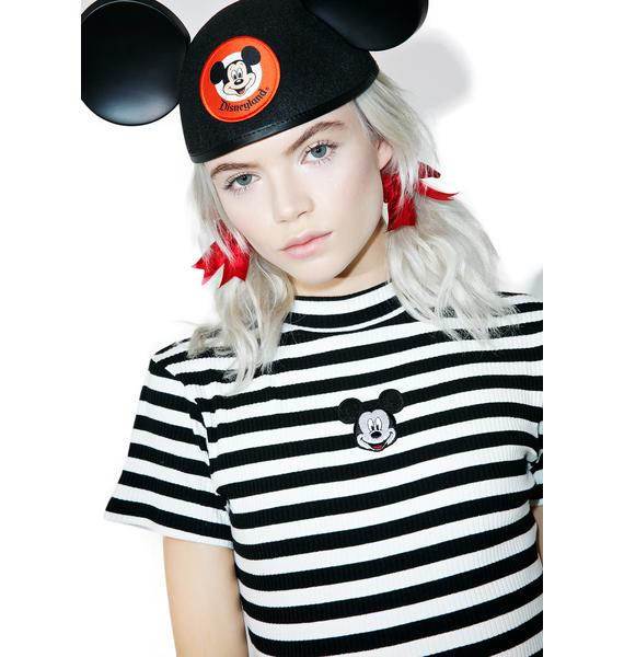 Lazy Oaf X Disney Mickey Mouse Baby Rib Tee
