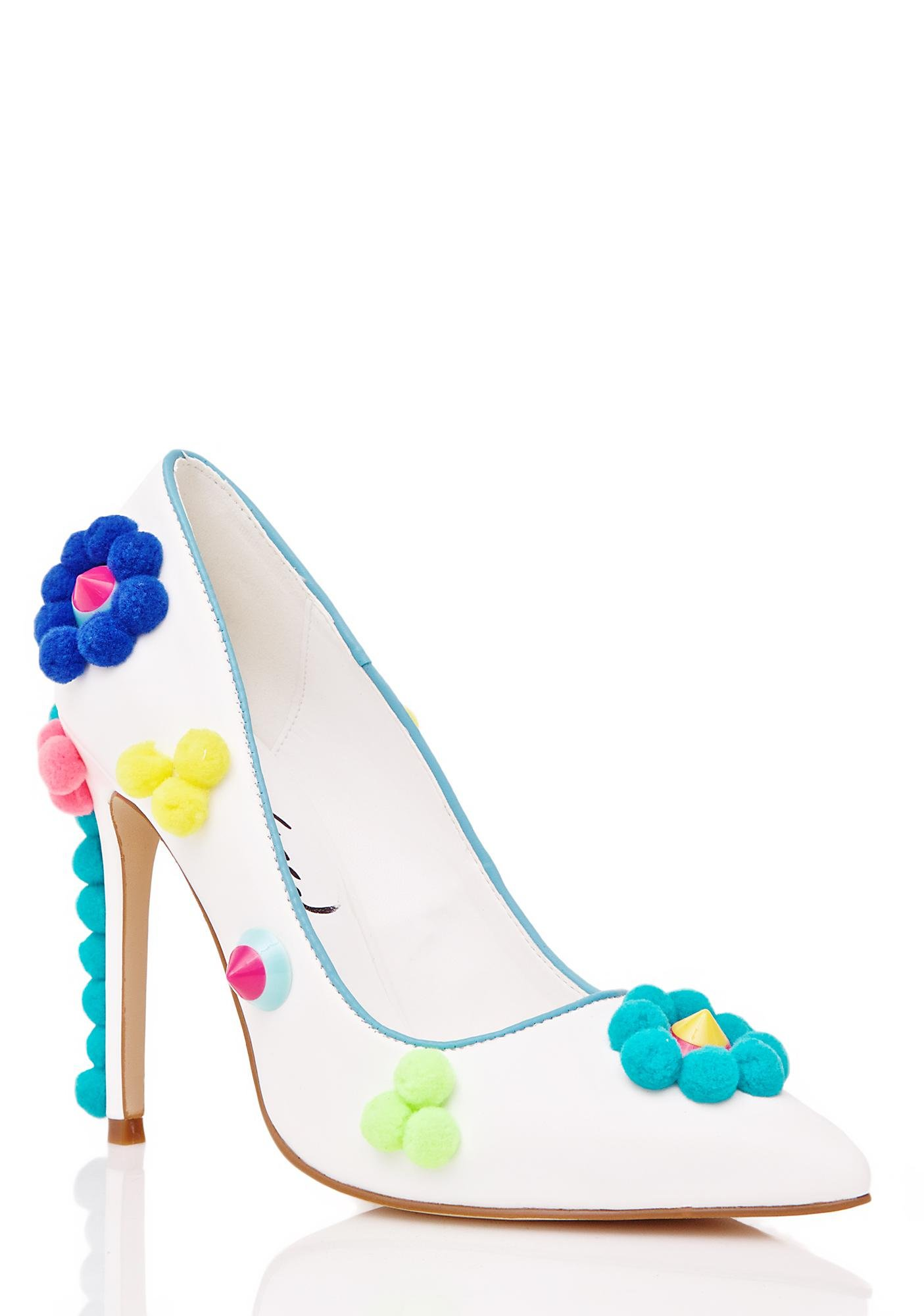 Privileged Florie Pom Pom Heels
