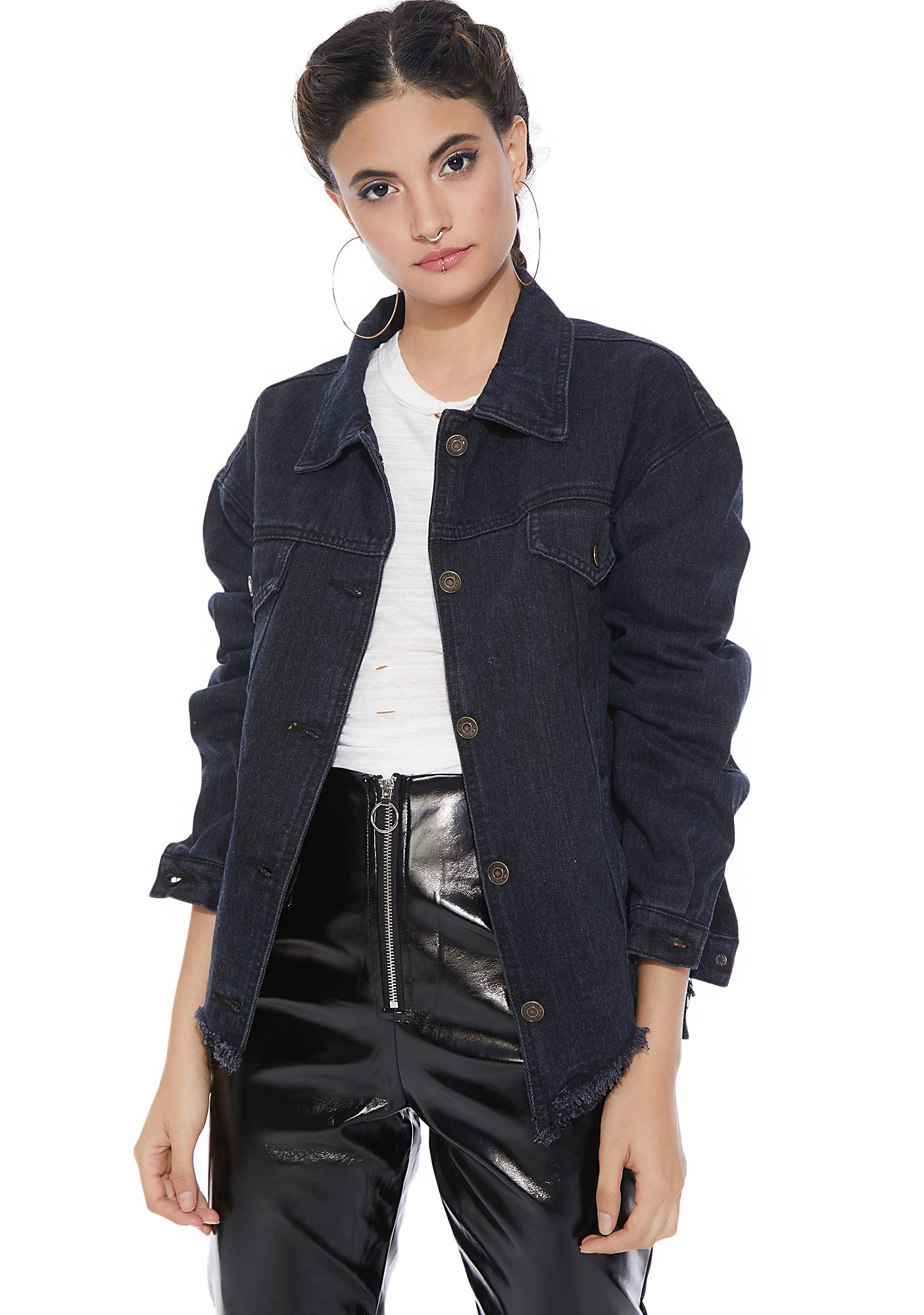 Girl Gang Denim Jacket