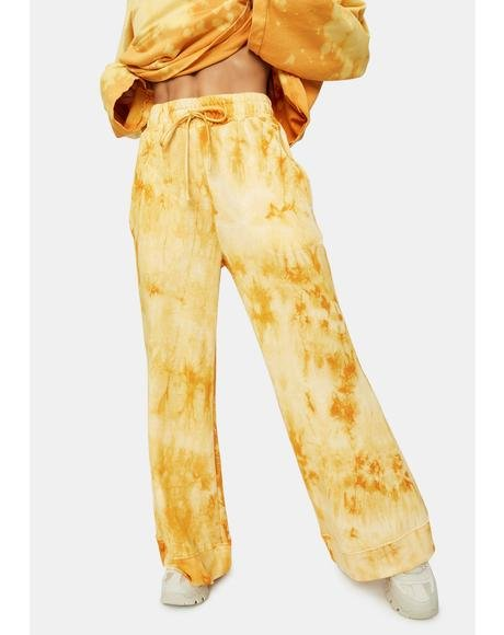 Kiss The Light Flared Lounge Pants