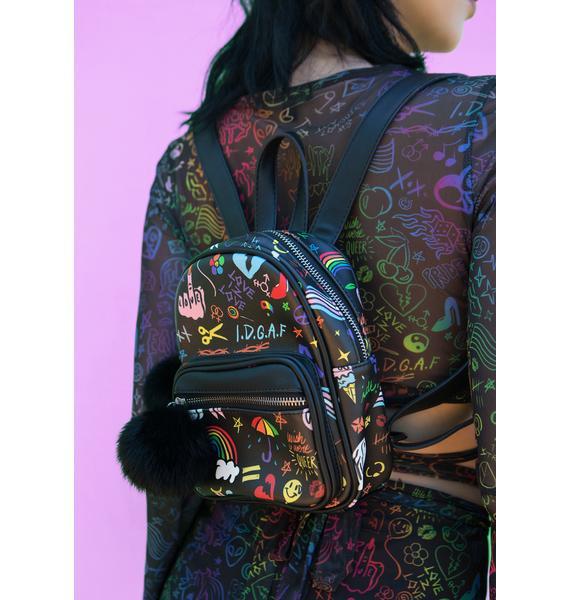 Club Exx Show Ur Pride Mini Backpack