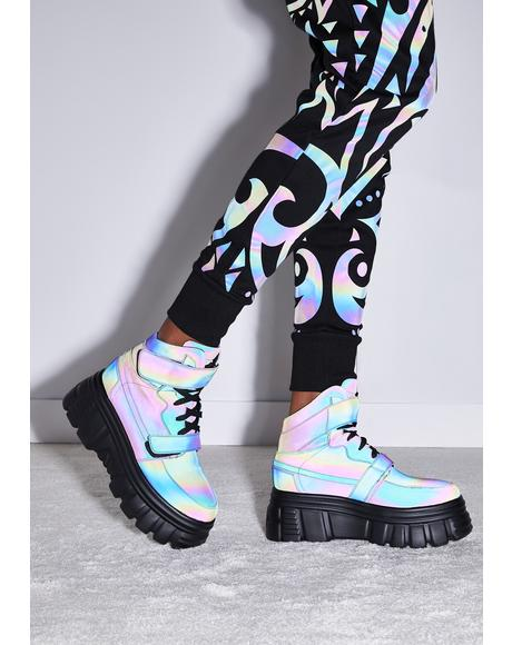 Starry Nights Reflective Sneakers