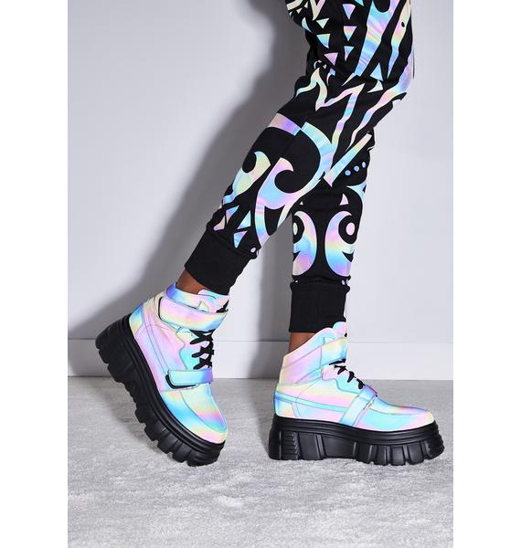 Club Exx Starry Nights Reflective Sneakers