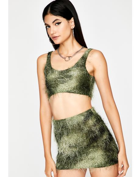 Lush Untamed Pleasures Skirt Set