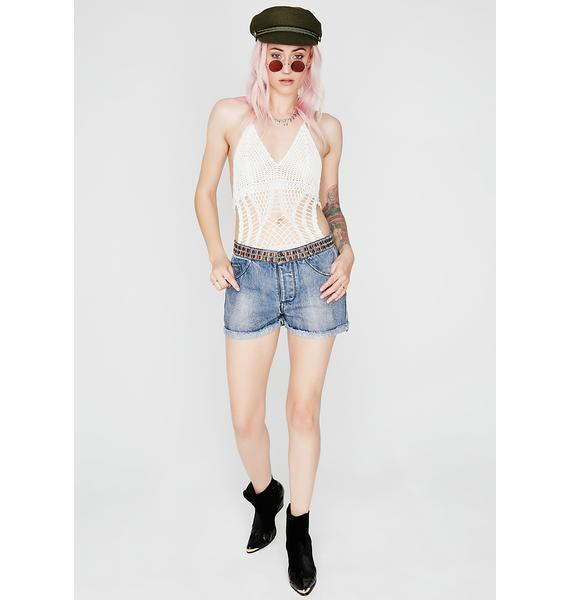 Stand Alone Denim Shorts
