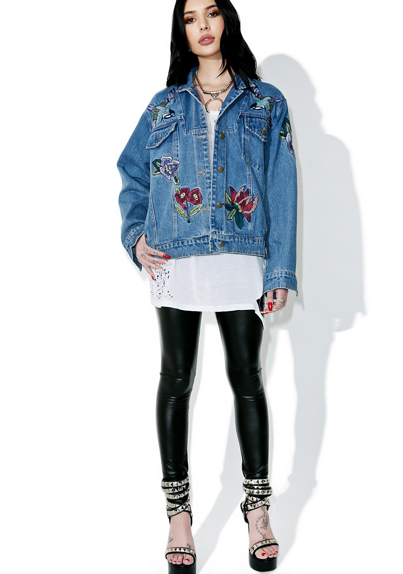 Blue Sparrow Denim Jacket